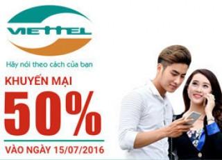 Đăng ký gói 10 của Viettel